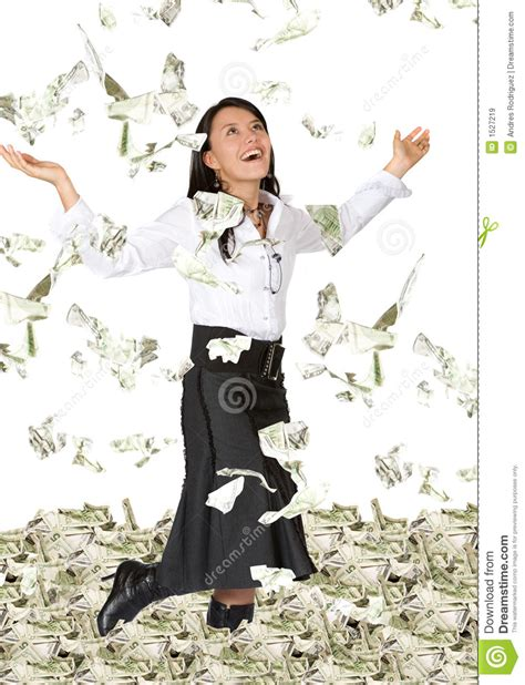 picure of women with a lot if pubic hair business woman with lots of money stock image image 1527219