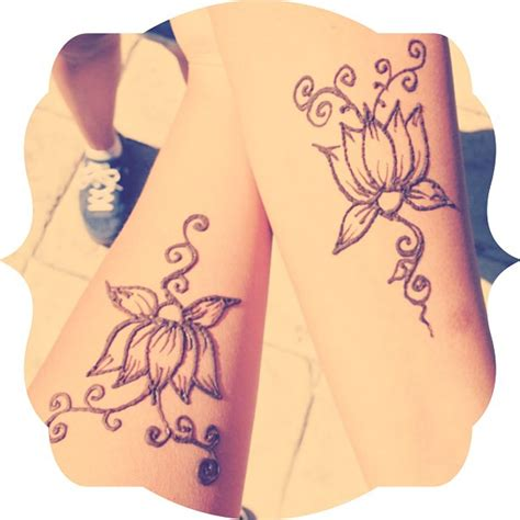 henna friendship tattoos best friends henna lotus flower designs