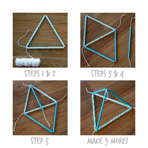 How To Make A Kite Out Of Paper - make a pyramid kite
