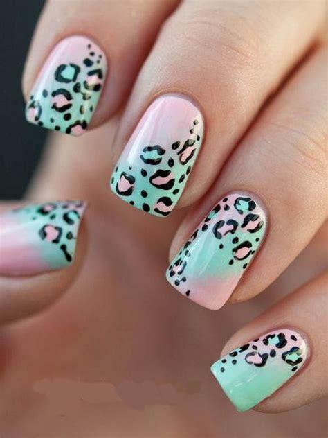 imagenes de uñas decoradas de leopardo 2015 ideas para decoraci 243 n u 241 as animal print