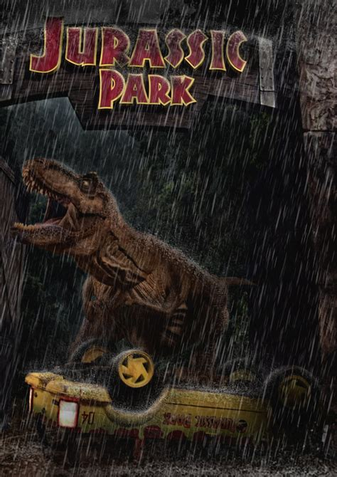 jurassic park car trex jurassic park t rex road attack by tomzj1 on deviantart