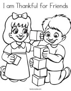 friends coloring pages i am thankful for friends coloring page twisty noodle