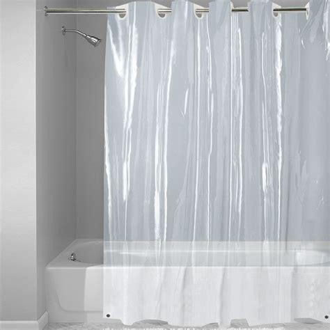 Ez On Super Clear Eva Shower Curtain Liner With Built In Hooks X Walmart Com