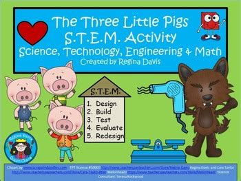 stem engineering houses for the three pigs with lego stem science technology engineering math fairytales