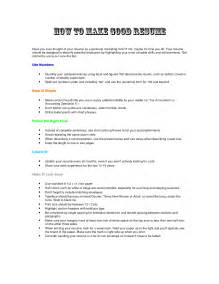 Build The Resume by 10 How To Build A Resume Quickly And For Free Writing Resume Sle