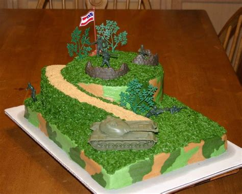 Army Decorated Cakes by Birthday Cake Cakecentral
