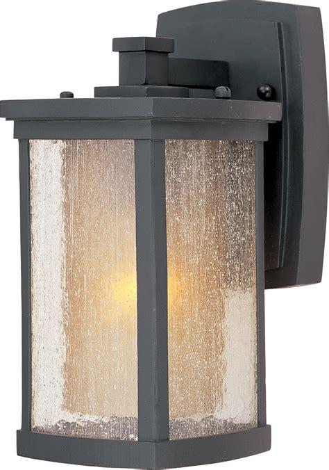 transitional outdoor wall light maxim lighting 3152cdwsbz bungalow transitional outdoor