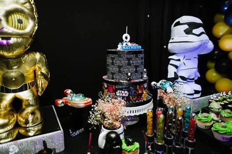 Wars Table Decorations by Kara S Ideas Wars Glow In The Birthday