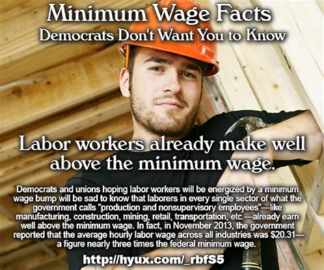 Minimum Wage Meme - 6 facts about minimum wage democrats don t want you to know