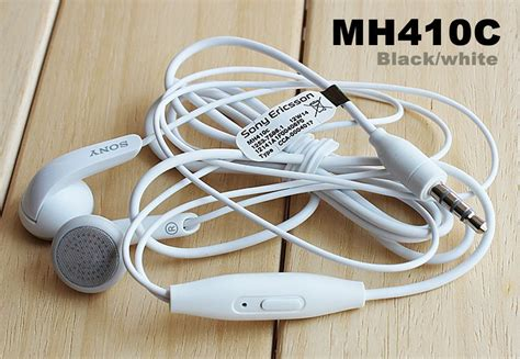 Terbaik Headset Earphone Sony Mh 410 C Original 100 original sony mh410c mh 410c earphones for all sony phones c3 t3 c4 etc available at