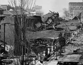 Ruins of atlanta union depot after burning by sherman s troops 1864