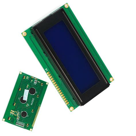 Blue Lcd Display 2004 20x4 20 X 4 Module With I2c Iic Backpack 2004 lcd blue display anzeigen 20x4 zeichen 5v for arduino