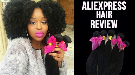 aliexpress hair reviews aliexpress virgin hair review unboxing very affordable