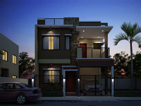 Modern 3d Home Design Software by Breathtaking Double Storey Residential House Amazing