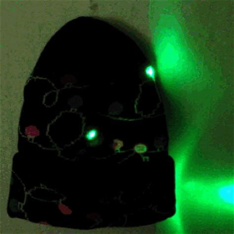 no glow caps for christmas lights led light up christmas lights beanie hat stocking cap