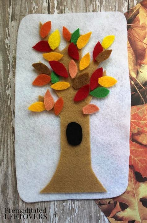 tree crafts for children thanksgiving crafts place of my taste