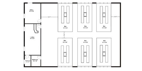 auto repair shop floor plans how to open an auto repair shop in a steel building