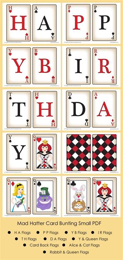 mad hatter card template pin by a ptitegirafe on in