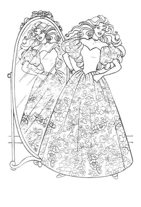 vintage barbie coloring pages barbie coloring pages coloringpages1001 com