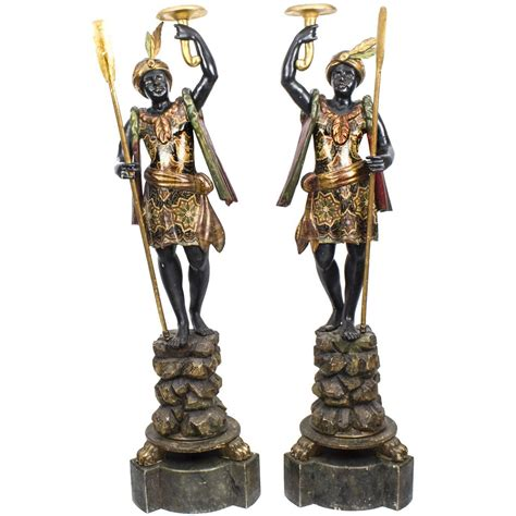 figure for sale antique pair of venetian blackamoor figures circa 1870