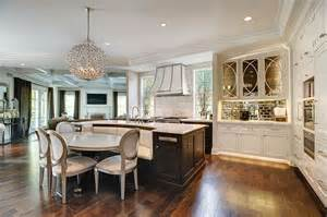 Kitchen Island With Built In Seating 35 Large Kitchen Islands With Seating Pictures Designing Idea