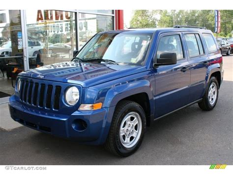 blue jeep patriot 2009 water blue pearl jeep patriot sport 32966720