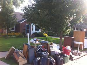 Trash Days Recovering From The August 11 2014 Flood Kevinmlutkowski