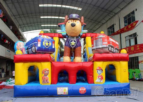 Inflatable Bouncy Toy Paw Patrol | paw patrol bounce obstacle course channal inflatables