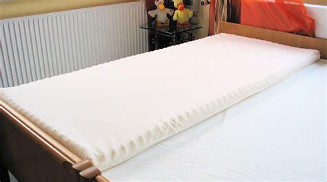 matratzen übergröße matratzen auflage mit noppen aus 100 viscoschaum