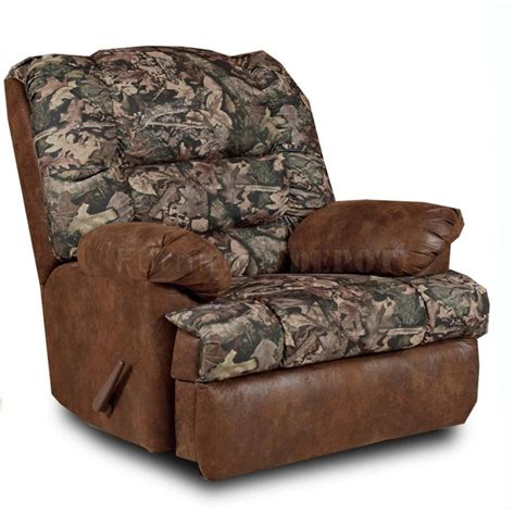 rural king camo recliner brown wood camo recliner cabin decorations pinterest