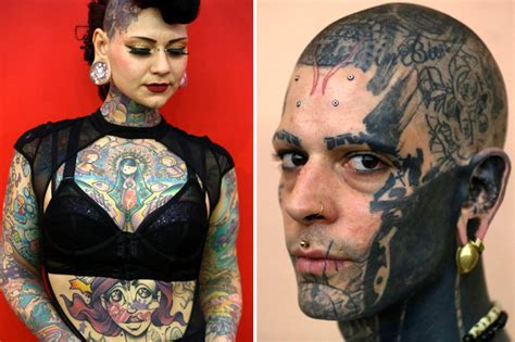 extreme tattoo designs from the great british tattoo show