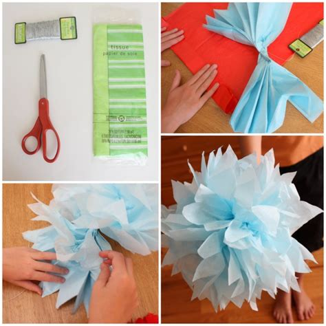 Flower Tissue Paper Craft - 10 tissue paper beautiful craft ideas k4 craft