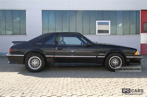 1988 ford mustang gt 5 0 v8 car photo and specs