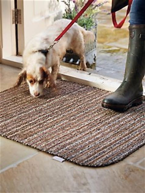 mud rugs for dogs hug rug stripe mat unique cotton and polyester fibers reach into shoe treads and