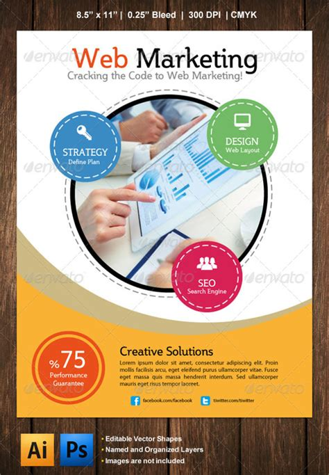 21 Marketing Flyer Templates Sle Templates Marketing Flyer Template