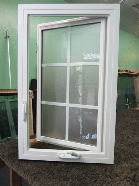 vinyl awning windows vinyl casement window with obs glass and grids block frame