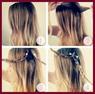 tutorial kepang rambut pita cara mengikat rambut lengkap