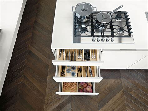 modern storage solutions contemporary italian kitchen offers functional storage