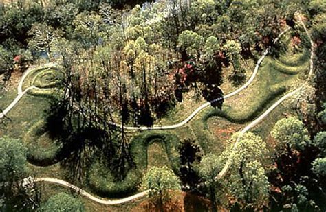 the masterpieces of the ohio mound builders the hilltop fortifications including fort ancient books bellbrook students build model of serpent mound www