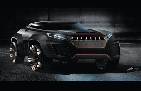 Jeep Concept Car We Draw Cars Jeep Concept