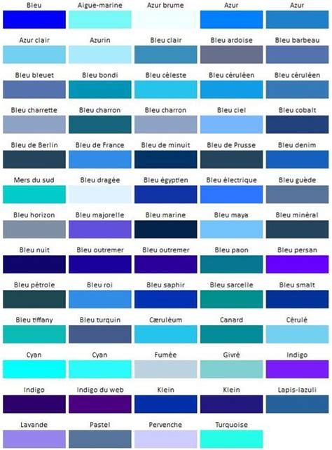 Nuances De Bleus couleur bleu codes et signification actualit 233 s du net