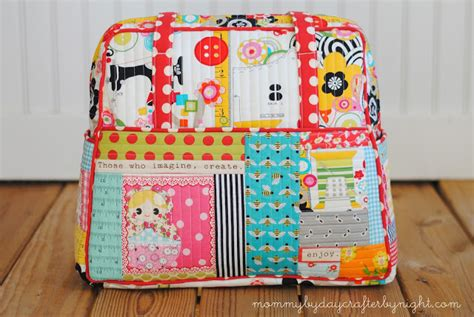 How To Make A Patchwork Quilt Bag - by day crafter by quilted weekender bag 2
