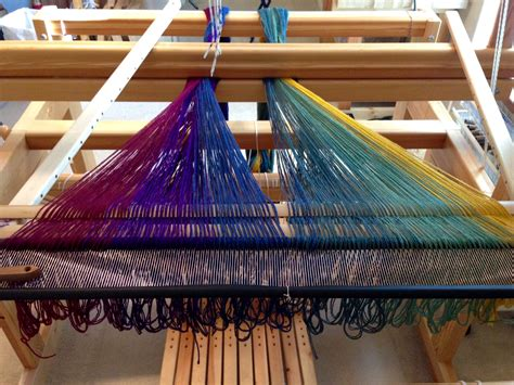 Decke Weben by Friday Width Blanket Progress Warped For