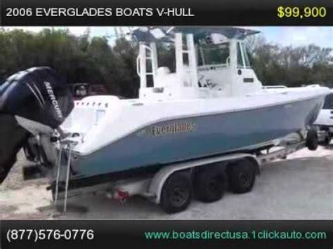 boat hull for sale florida 2006 everglades boats v hull boat boat for sale florida