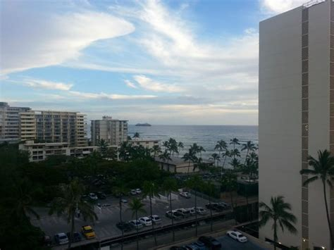 view from our hotel room picture of lotus honolulu at