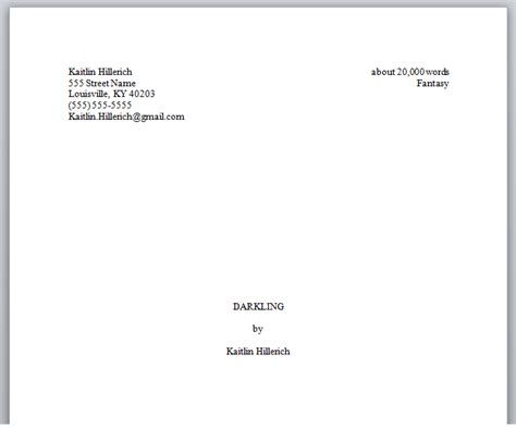 how to format a picture book manuscript how to format your novel properly before querying agents