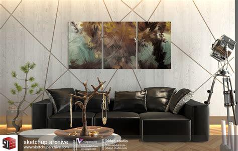 classic living room sketchup 2 by teknikarsitek on deviantart sketchup living room wallpaper modern home design ideas