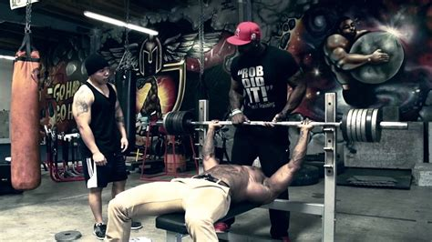 bench press max quotes - Ct Fletcher Bench Press Workout