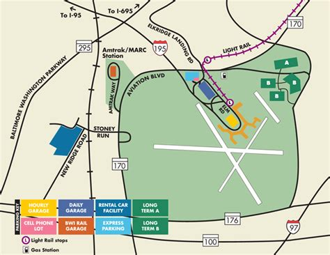 bwi airport map hourly garage bwi 2017 2018 best cars reviews