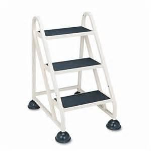 cramer industries inc 3 step aluminum step stool with